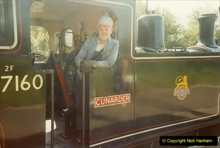 1991-09-01 Your Host driving 47160 Cunarder, This was a very good little locomotive. (1) 148