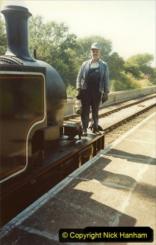 1991-09-01 Your Host driving 47160 Cunarder, This was a very good little locomotive. (2) 149