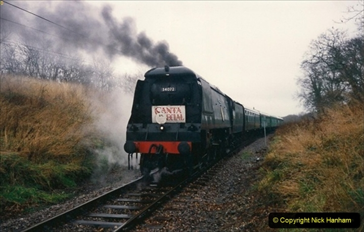 1993-12-12 Santa Specials with you Host driving 34072. 199
