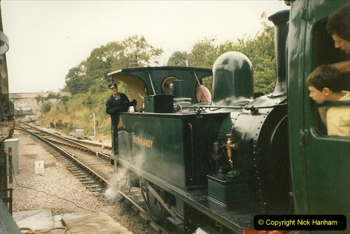 1994-05-01 B4 Normandy visiting from the Bluebell Railway. Your Host driving. (1) 203