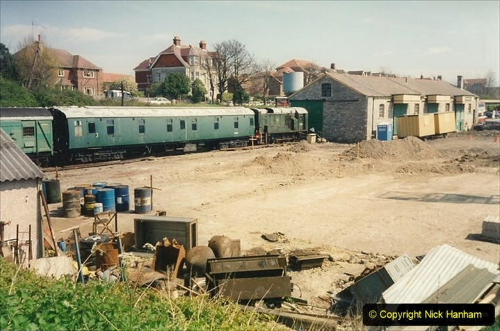 1994-05-03 Swanage yard. 205