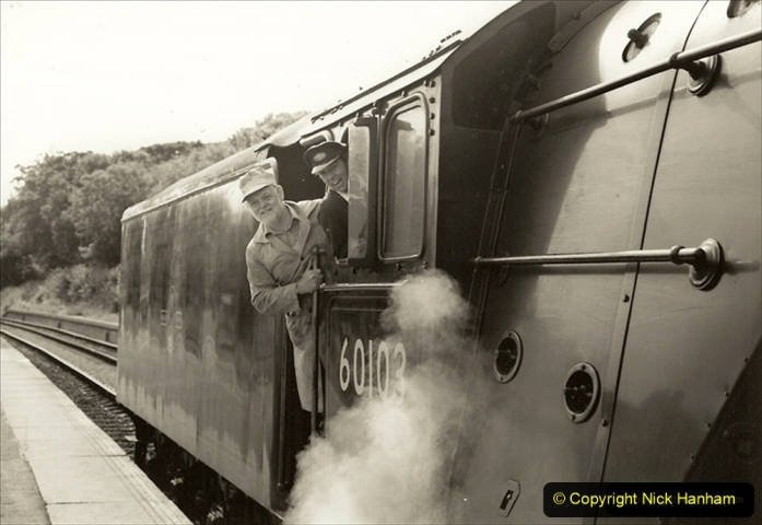 1994-07-07 Your Host conducting gauging run for Flying Scotsman in my capacity as Operations Director. 207