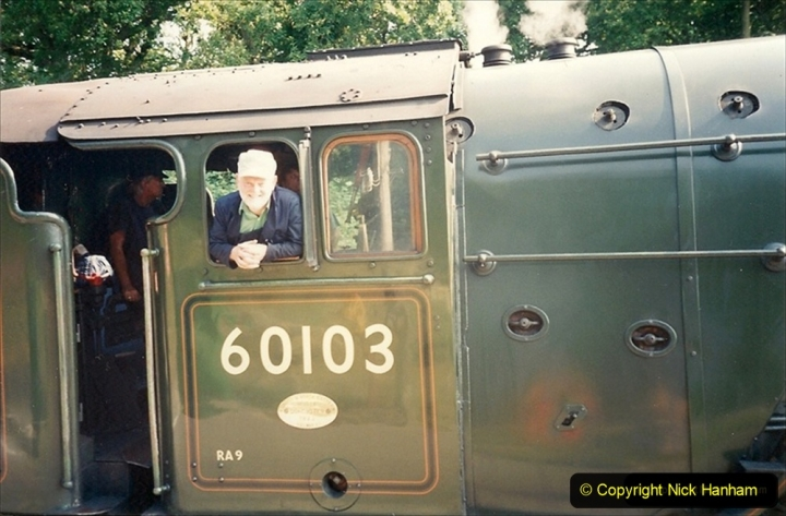 1994-07-18 to 22 Your Host spends a week driving Flying Scotsman. (2) 213