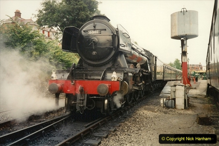 1994-07-18 to 22 Your Host spends a week driving Flying Scotsman. (4) 215