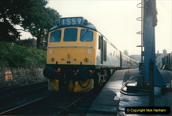 1994-10-20 My last driving turn on the Class 25 prior to its departure. (1) 219