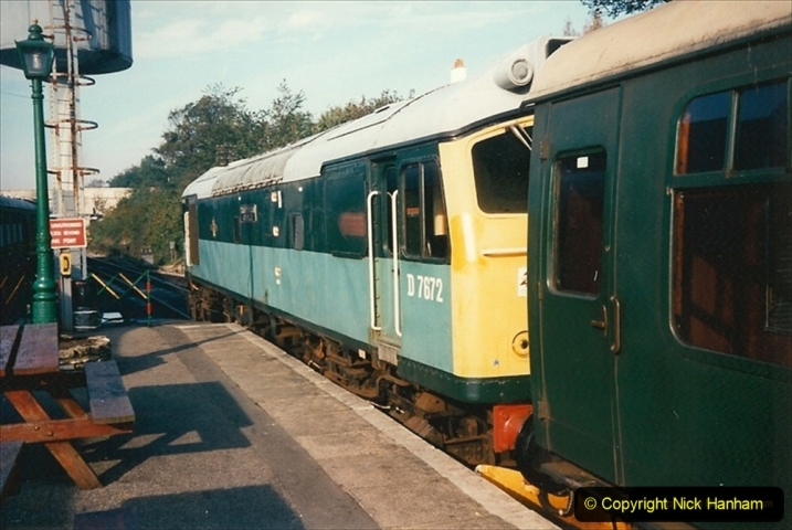 1994-10-20 My last driving turn on the Class 25 prior to its departure. (2) 220