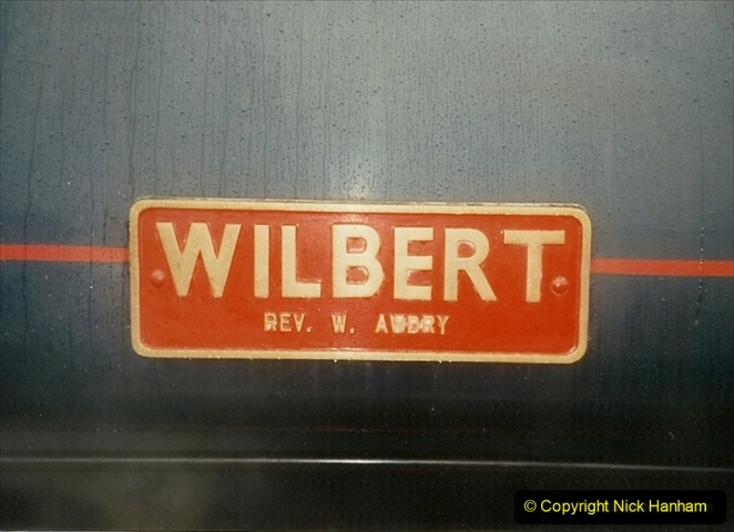 1995-06-17 Driving NCB Wilbert. Lovely loco to drive. (2) 225
