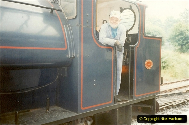 1995-06-17 Driving NCB Wilbert. Lovely loco to drive. (3) 226