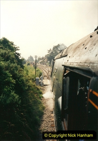1995-08-12 First trains to Norden. Your Host acting as Inspector in the capacity of Company Safety Officer. 229