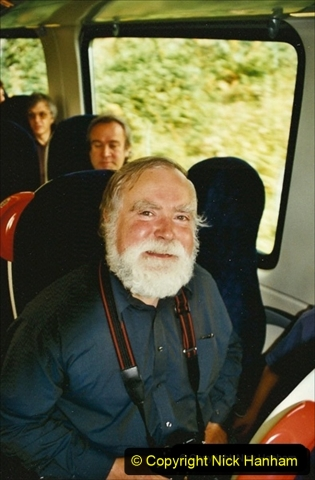 2002-09-08 Virgin Voyager named @ Swanage. Your Host wit FOUNDER Andrew Goltz. 291