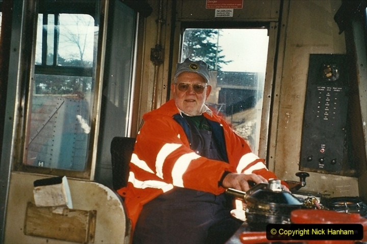 2002-12-01 Driving the DMU on Santa Specials. 296
