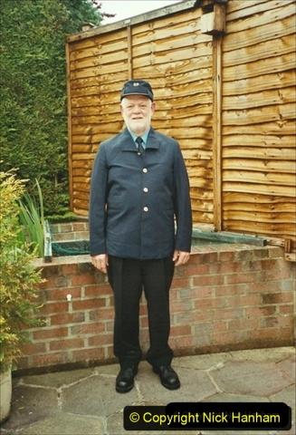 2003-05-07 Your Host in his new motorman uniform. 303
