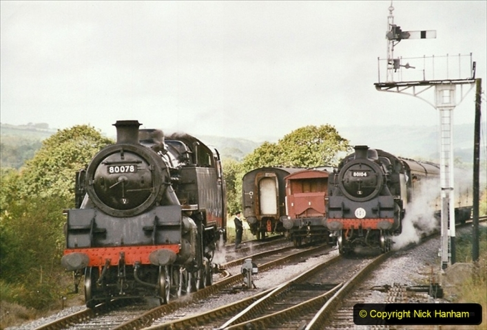 2004-09-11 SR Steam Gala with your Host driving 80104. (2) 307