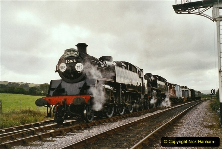 2004-09-11 SR Steam Gala with your Host driving 80104. (3) 308