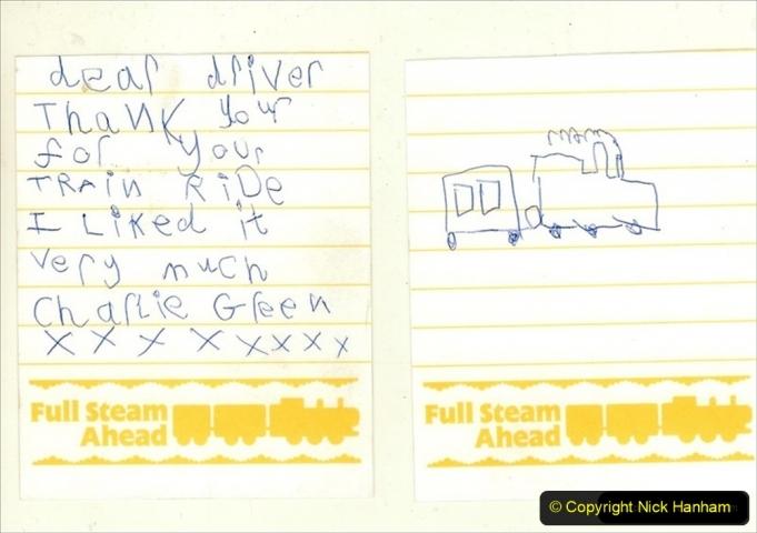 2004-10-25 Driving Thomas on Thomas week. My fan mail. (2) 310