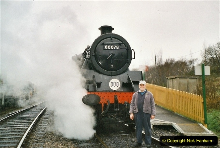 2004-12-26 Driving the Boxing Day trains. (2) 314