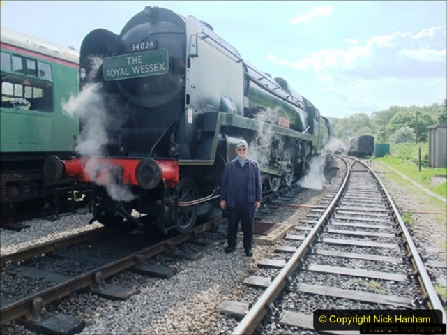 2014-05-19 Driving West Country Class 34028. (1) 502