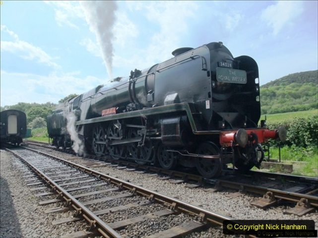 2014-05-19 Driving West Country Class 34028. (2) 503