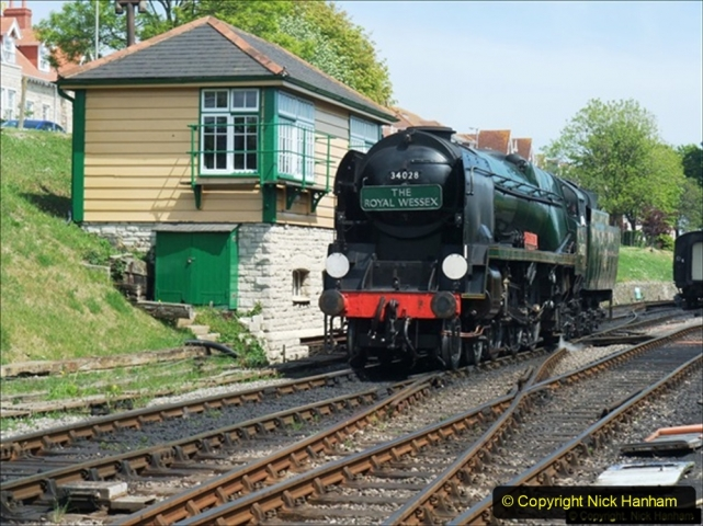 2014-05-19 Driving West Country Class 34028. (4) 505