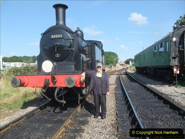2014-07-30 Early Steam Turn with the M7 and 34028. (1) 513