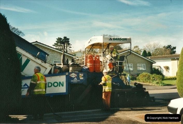2000-04-13. Resurfacing work, Poole, Dorset. (13)063063