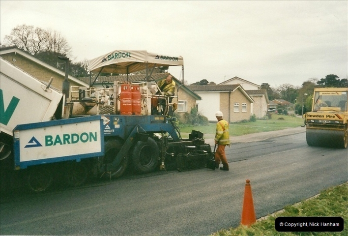 2000-04-13. Resurfacing work, Poole, Dorset. (18)068068