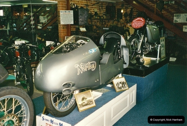 2000-10-29 Sammy Miller Motorcycle Museum, New Milton, Hampshire.  (8)130130