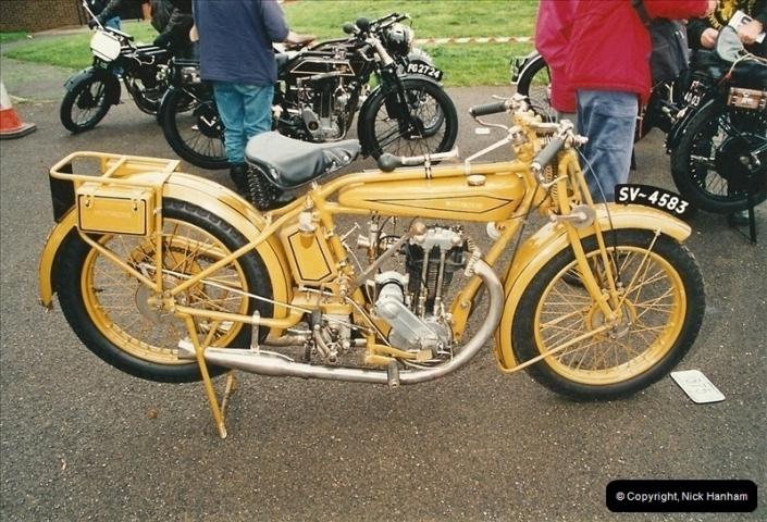 2002-06-17. The Vintage Motorcycle Club's Banbury Run, Banbury, Oxfordshire. (12)216216