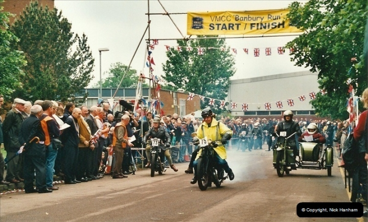 2002-06-17. The Vintage Motorcycle Club's Banbury Run, Banbury, Oxfordshire. (24)228228