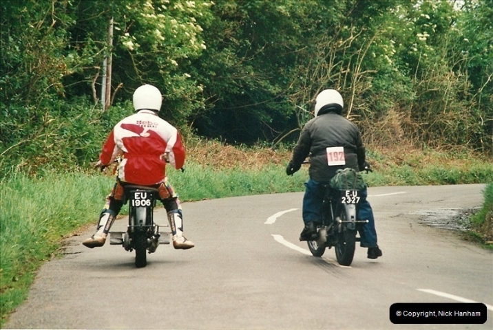 2002-06-17. The Vintage Motorcycle Club's Banbury Run, Banbury, Oxfordshire. (30)234234