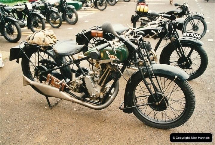 2002-06-17. The Vintage Motorcycle Club's Banbury Run, Banbury, Oxfordshire. (8)212212