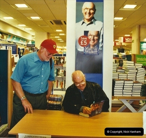 2002-09-21. Your Host with Murray Walker book signing. Poole, Dorset.  (1)282282