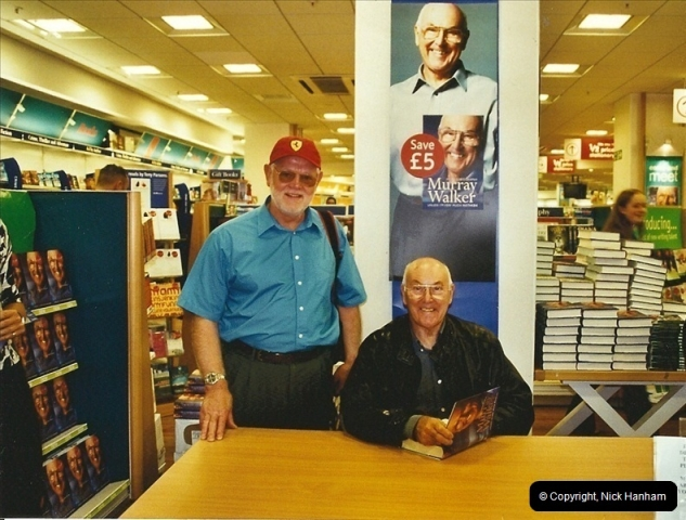 2002-09-21. Your Host with Murray Walker book signing. Poole, Dorset.  (2)283283