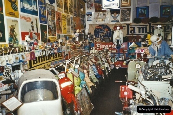 2004-01-07. The Lambretta Museum, Weston Super Mare, Somerset.  (2)444444