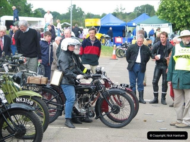 2004-06-19 VMCC (Vintage Motor Cycle Club) Banbury Run, Banbury, Oxfordshire.  (11)484484