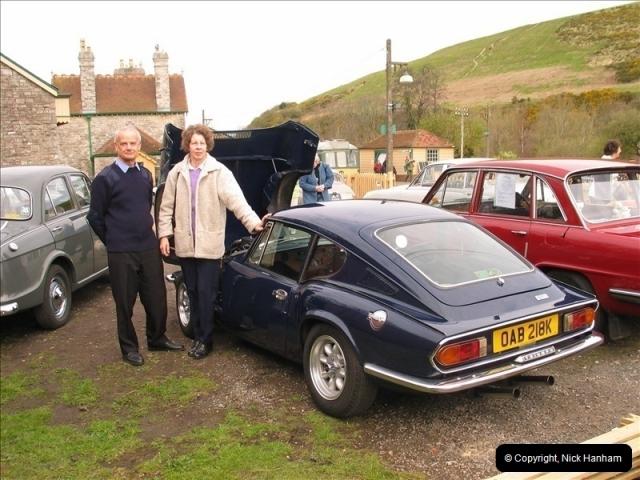 2005-04-16 & 17 Swanage Railway 50s & 60s Event @ Corfe Castle, Dorset.  (32)624624