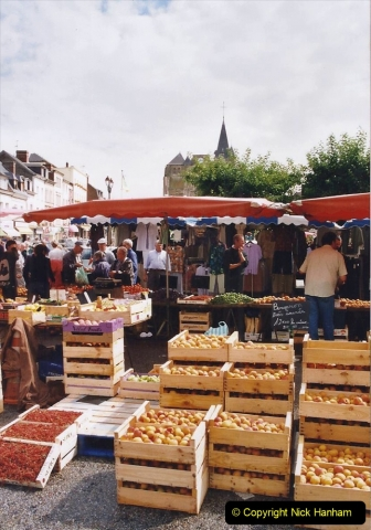 2002 July - France. (69) Le Neubourg Market. 069