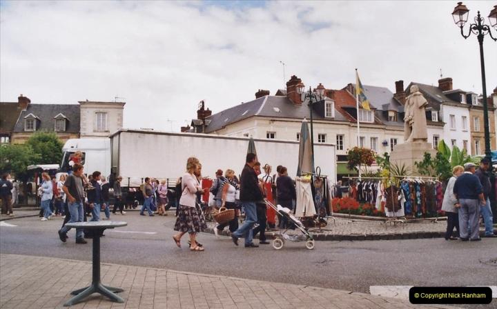 2002 July - France. (70) Le Neubourg Market. 070