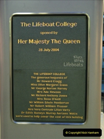 2006-12-11 At THE RNLI Life Boat College, Poole, Dorset.  (22)371