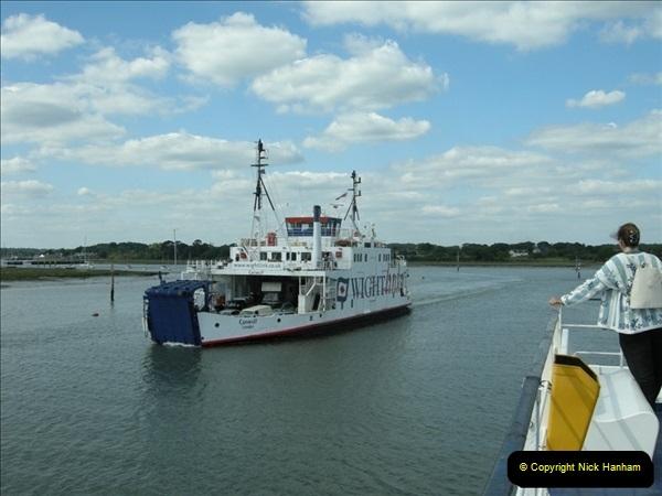2008-05-16 Lymington to Yarmouth Ferry, IOW.  (1)545