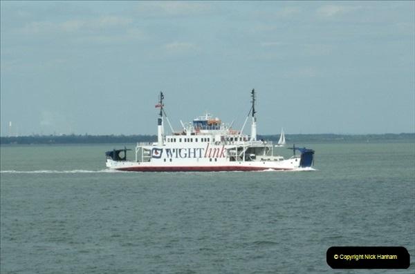2008-05-16 Lymington to Yarmouth Ferry, IOW.  (2)546
