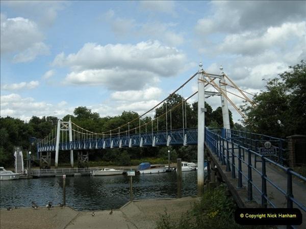 2008-06-26 Teddington Lock, Middlesex.  (1)549