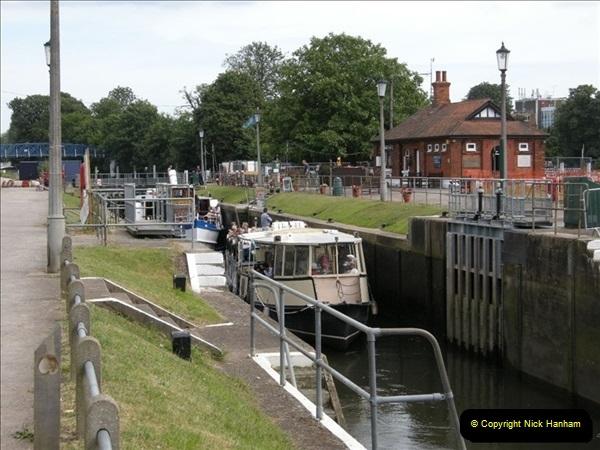 2008-06-26 Teddington Lock, Middlesex.  (4)552