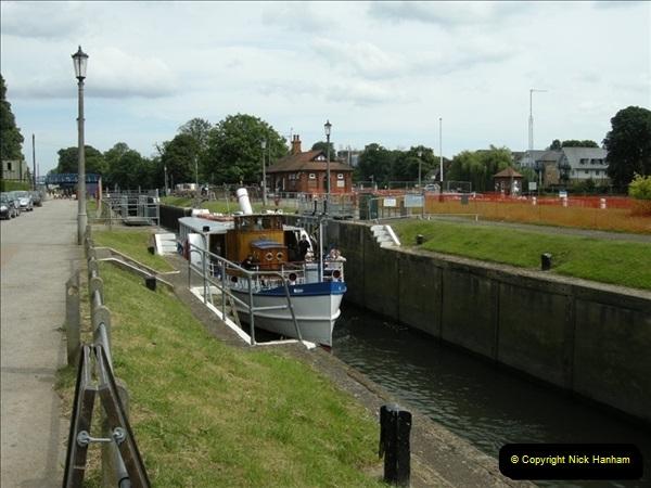 2008-06-26 Teddington Lock, Middlesex.  (5)553