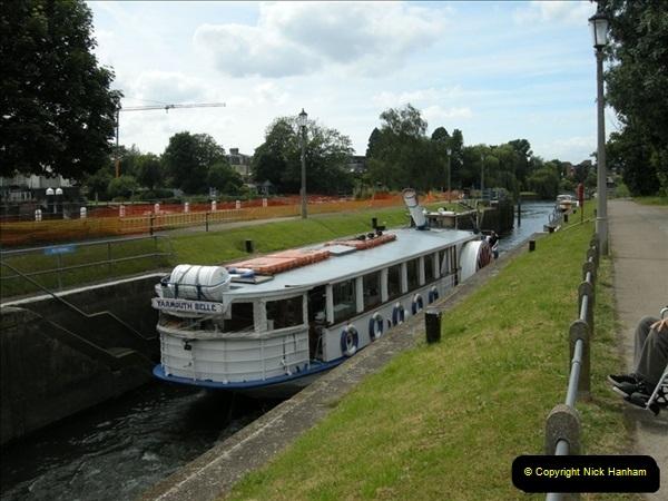 2008-06-26 Teddington Lock, Middlesex.  (6)554