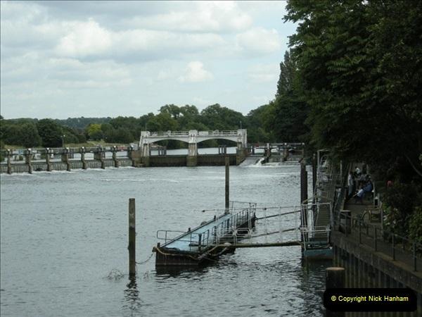 2008-06-26 Teddington Lock, Middlesex.  (8)556