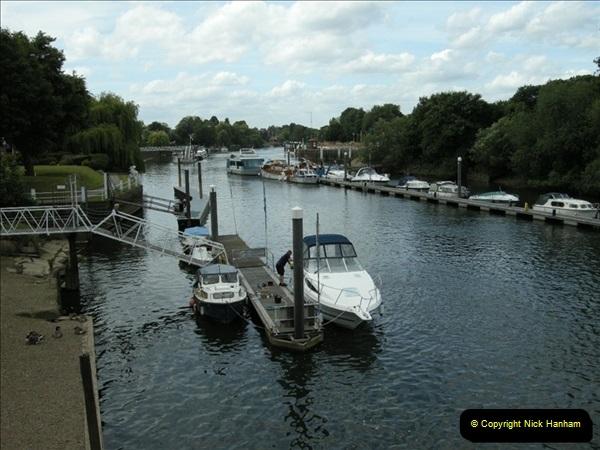 2008-06-26 Teddington Lock, Middlesex.  (9)557