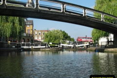 2005-07-21 The Regents Canal, Camden Town, London.  (24)098