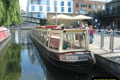 2005-07-21 The Regents Canal, Camden Town, London.  (27)101