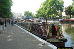 2005-07-21 The Regents Canal, Camden Town, London.  (5)079